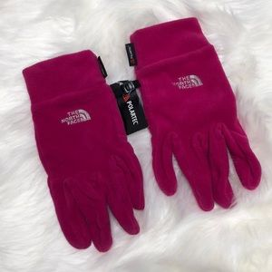 The North Face Polartec Razzle Pink Gloves